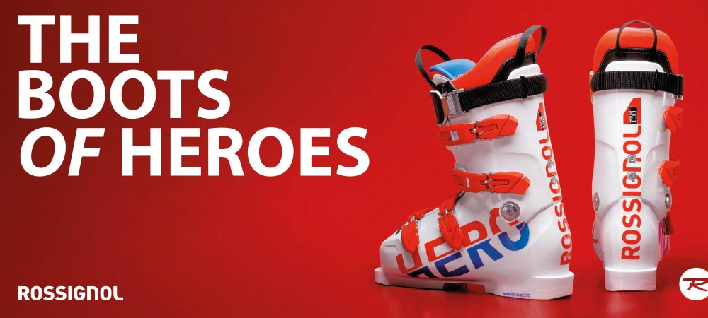 THE BOOTS OF HEROES ROSSIGNOL