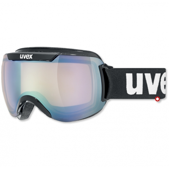 MASQUE UVEX DOWNHILL 2000 BLACK VARIO VLM