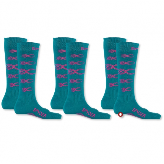 CHAUSSETTES SPYDER BUG OUT PACK 3 PAIRES