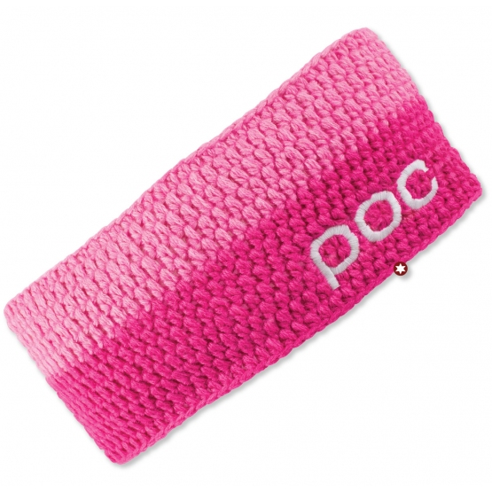 BANDEAU POC CROCHET HEADBAND ETHYLENE DUO PINK