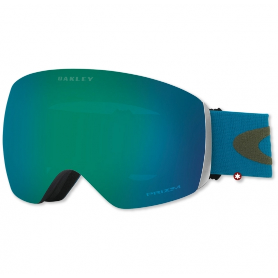 MASQUE OAKLEY FLIGHT DECK LEGION BLUE /PRIZM JADE IRID S2