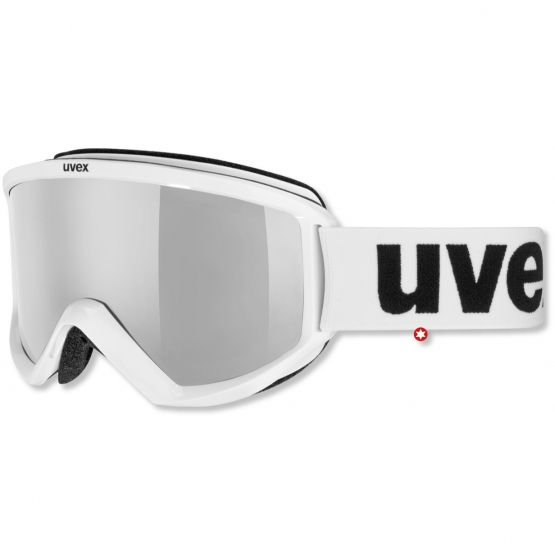 MASQUE UVEX FIRE FLASH BLANC