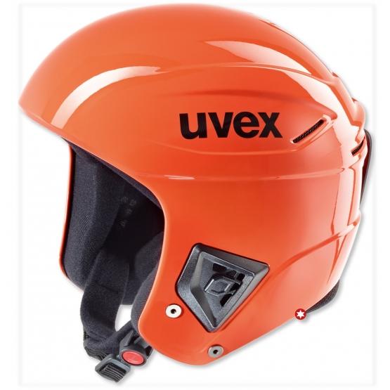 CASQUE UVEX RACE+ FIS ORANGE