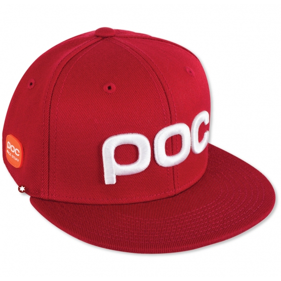 CASQUETTE POC RACE STUFF CAP GLUCOSE RED