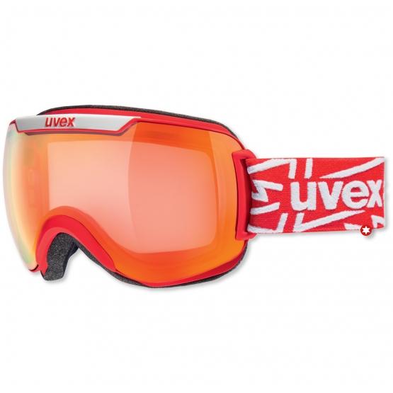 MASQUE UVEX DOWNHILL 2000 RED VARIO VM