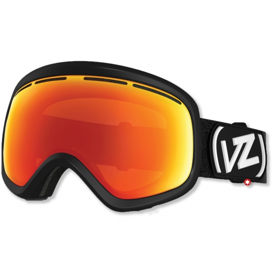 MASQUE VONZIPPER SKYLAB  BLACK SATIN FIRE CHROME