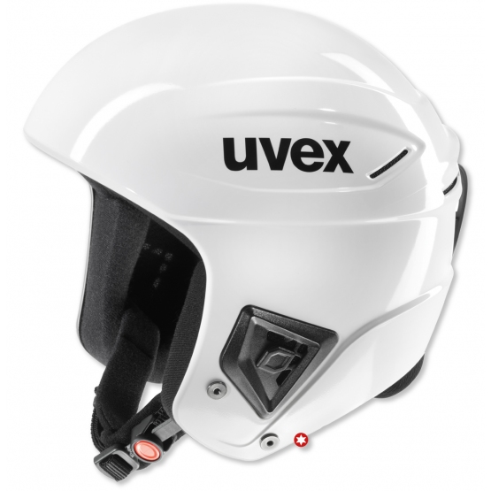 CASQUE UVEX RACE+ FIS ALL WHITE
