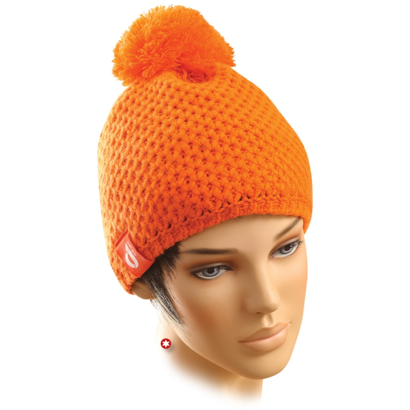 bonnet ski homme orange. Black Bedroom Furniture Sets. Home Design Ideas
