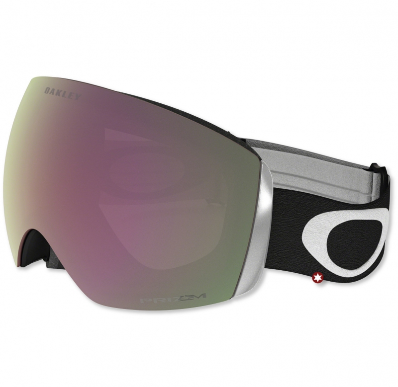 masque de ski oakley flight deck matte black prizm hi pink s1 skibox. Black Bedroom Furniture Sets. Home Design Ideas