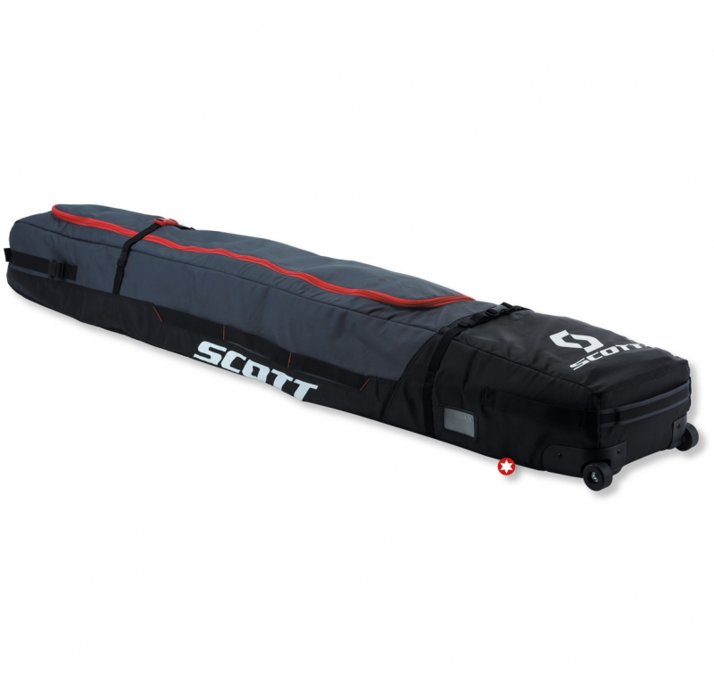 housse a ski scott ski wheel bag 2 3p skibox
