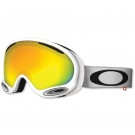 MASQUE OAKLEY A FRAME 2.0 POLISHED WHITE W FIRE IRIDIUM S3