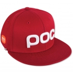 CASQUETTE POC RACE STUFF CAP GLUCOSE RED