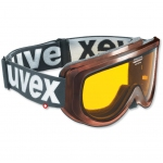 MASQUE UVEX RACER DEEP BROWN GOLD S1
