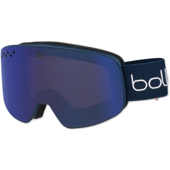 MASQUE BOLLE NEVADA MATTE BLUE S3