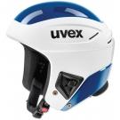 CASQUE UVEX RACE+ FIS WHITE BLUE