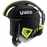CASQUE UVEX RACE+ FIS BLACK LIME