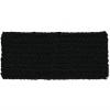 BANDEAU POC CROCHET HEADBAND URANIUM BLACK